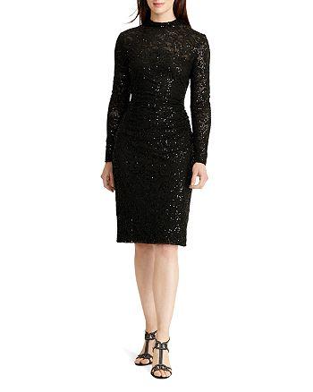 Ralph Lauren - Sequin Lace Dress