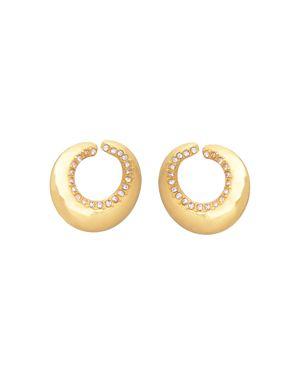 MELISSA LOVY Blake Hoop Earrings in Gold