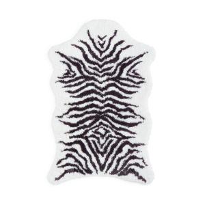 Graccioza Mountain Zebra Bath Rug, Small
