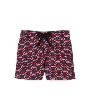 Vilebrequin Boys' Jim Anchor Swim Trunks