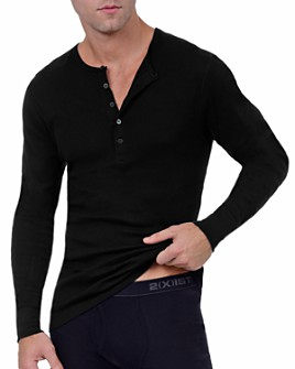 2(X)IST - Long John Henley Top