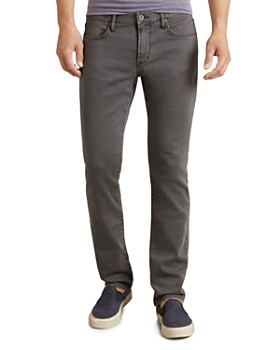 John Varvatos Star USA - Bowery Straight Fit Jeans in Shark