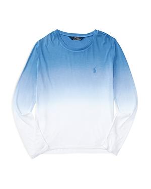 Ralph Lauren Childrenswear Girls Dip Dye Tee  Sizes Sxl