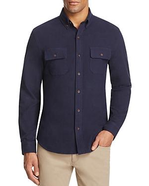 Surfside Supply Knit Regular Fit Button-Down Shirt