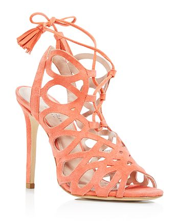 Charles David - Women's Priscilla Cutout Caged High-Heel Sandals