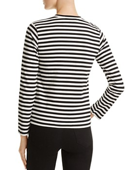 Comme Des Garcons PLAY - Stripe Tee