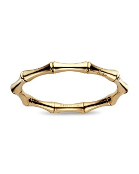 Gucci - 18K Yellow Gold Bamboo Bracelet
