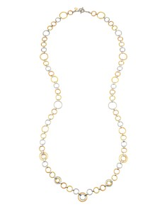 "ALOR Gray, Rose & Yellow Cable Loop Necklace, 36"" - Bloomingdale's_0"