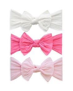 Baby Bling - Infant Girls' Knot Headbands - Box Set of 3