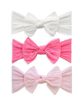 Baby Bling - Infant Girls' Knot Headbands - Box Set of 3