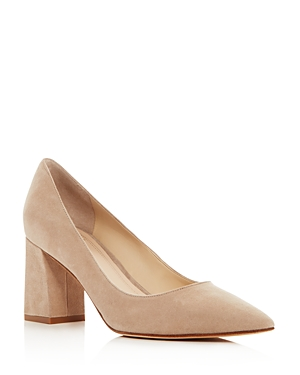Marc Fisher Ltd. Zala Suede Pointed Toe Pumps
