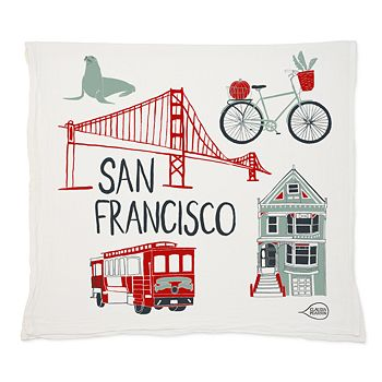 Claudia Pearson - San Francisco Tea Towel