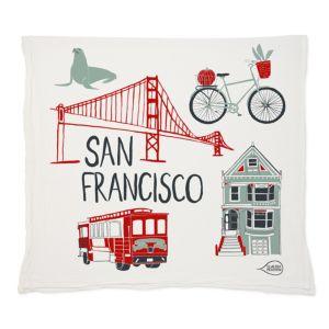 Claudia Pearson San Francisco Tea Towel