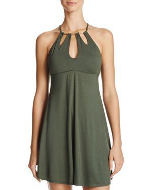 Robin Piccone Petal Keyhole Dress Swim Cover-Up