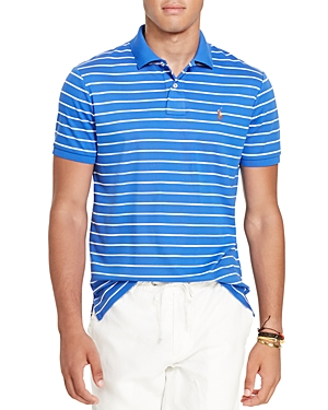 Polo Ralph Lauren Striped Pima Cotton Slim Fit Polo Shirt