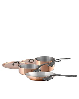 Mauviel - M'150c2 Copper 5-Piece Cookware Set