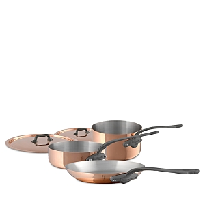 Mauviel M'150c2 Copper 5-Piece Cookware Set