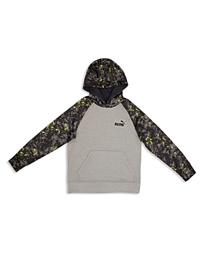 Puma Boys Digital Print Hoodie  Little Kid