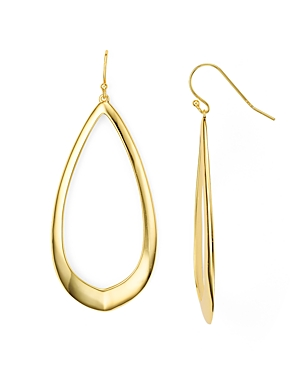 Argento Vivo Oval Drop Earrings