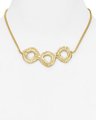 ALEXANDRA KOUMBA ORGANA COLLAR NECKLACE, 16