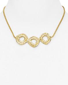 """Alexandra Koumba - Organa Collar Necklace, 16"""""""