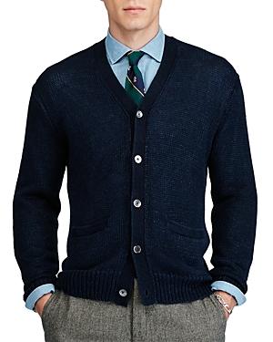 Polo Ralph Lauren Linen V-Neck Cardigan Sweater