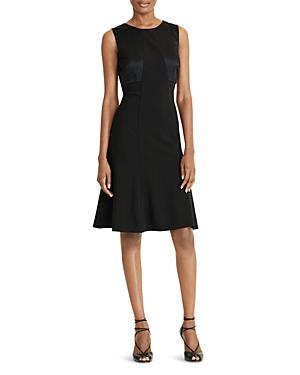 Lauren Ralph Lauren Petites Bow-Back Dress