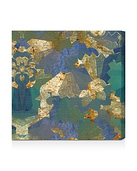 Oliver Gal - Turquoise Deco Wall Art