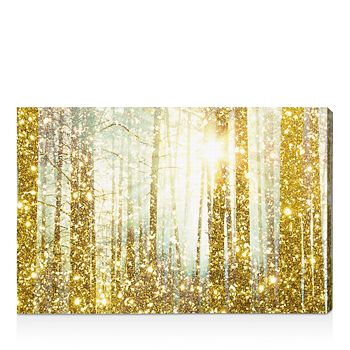 """Oliver Gal - Magical Forest Wall Art, 15"""" x 10"""""""