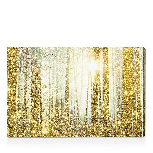 """Oliver Gal - Magical Forest Wall Art, 24"""" x 16"""""""