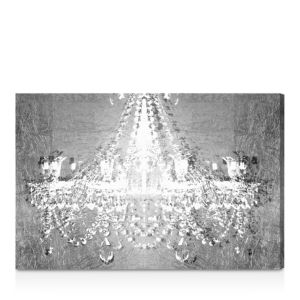 Oliver Gal Dramatic Entrance Chrome Wall Art, 24 x 16