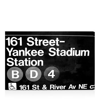 "Oliver Gal - Yankee Stadium Night Wall Art, 15"" x 10"""