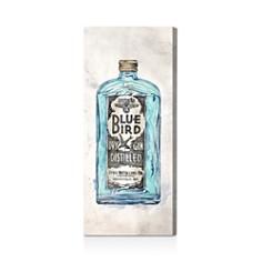 Oliver Gal Blue Bird Gin Wall Art - Bloomingdale's_0