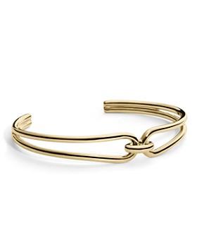 Shinola - 14K Yellow Gold Lug Open Cuff Bracelet