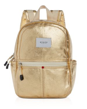 State Downtown Kane Mini Metallic Backpack