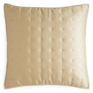 Hudson Park Delano Quilted Euro Sham - 100% Exclusive