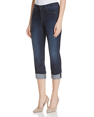 Nydj Dayla Cuffed Cropped Jeans in Manhattan Beach