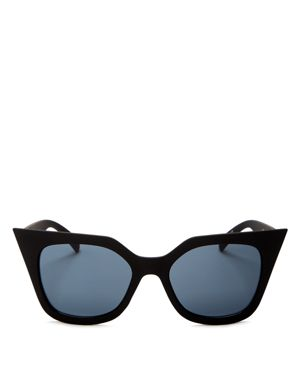 Quay Harper Cat Eye Sunglasses, 55mm