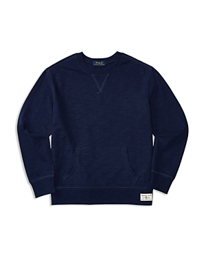 Ralph Lauren Childrenswear Boys' Slubbed Jersey Pullover - Big Kid