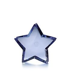 Baccarat Zin Zin Blue Star - Bloomingdale's Registry_0