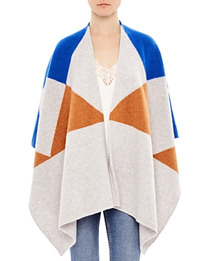 Sandro Nyla Wool Wrap at Bloomingdale's