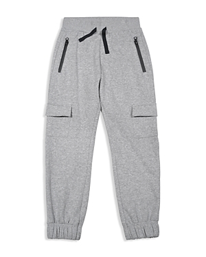 7 for All Man Kind Boys' Fleece Cargo Joggers - Big Kid