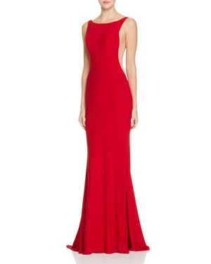 FAVIANA COUTURE ILLUSION SIDE GOWN - 100% EXCLUSIVE