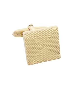 Lanvin Square Linear Line Cufflinks