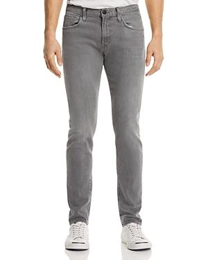 J Brand Tyler Slim Fit Jeans in Gray Luna