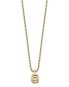 """Gucci 18K Yellow Gold Running G Necklace, 17.71"""" - Bloomingdale's_0"""