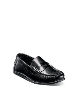 Florsheim Kids - Boys' Jasper Leather Driver Slip On Loafers - Toddler, Little Kid, Big Kid