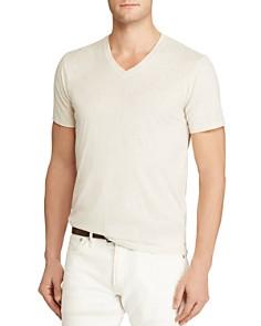 Polo Ralph Lauren Custom Fit Jersey V-Neck Tee - Bloomingdale's_0