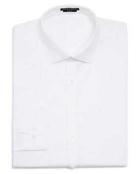 Vardama - Park Ave Solid Stain Resistant Slim Fit Dress Shirt