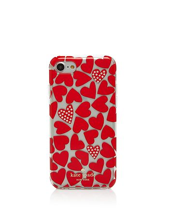 kate spade new york - Scattered Heart iPhone 7 Case